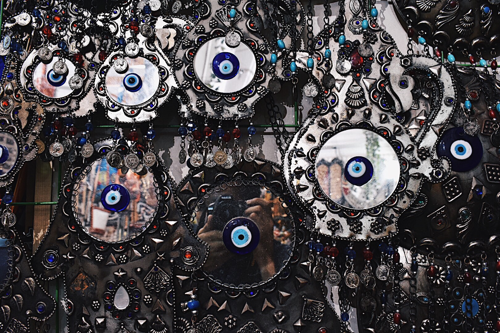 Nazar (evil eye) mirrors
