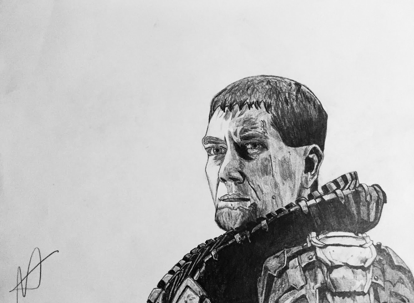 General Zod drawing